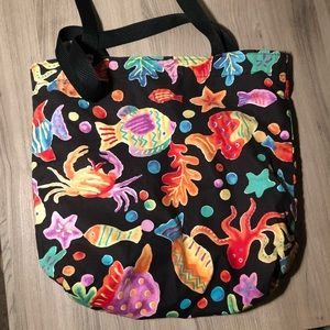 47ee7be6e5d7 ♥️ 5 for $10 SALE— Vintage Tropical Fish Tote